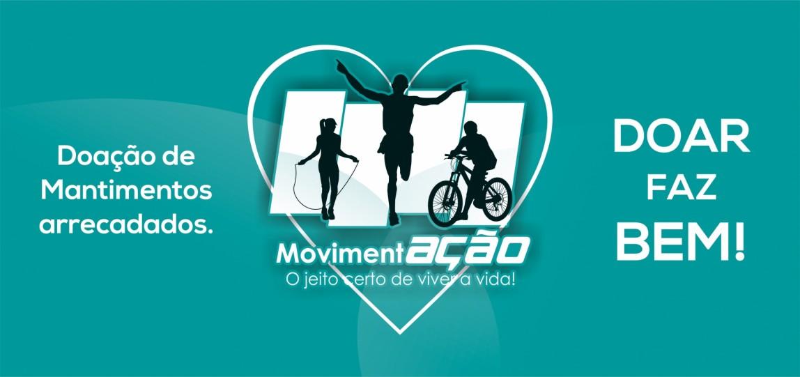 Doação Mantimentos Arrecadados - Projeto MovimentAÇÃO.